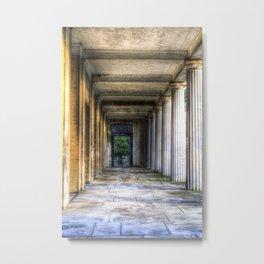 Kensal Green Cemetery  Colonnade Metal Print