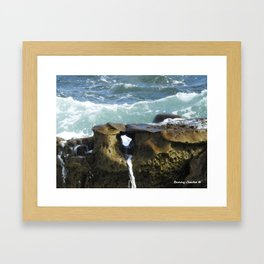A Moment of Calm (All proceeds dontated to Children of Fallen Patriots Foundation) Framed Art Print