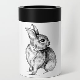 Bunny #4 Can Cooler