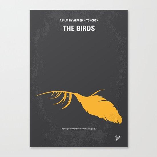 No110 My Birds minimal movie poster Canvas Print