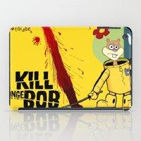 tarantino iPad Cases featuring Kill Spongebob by thunderbloke!