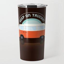 Keep On Truckin' Travel Mug
