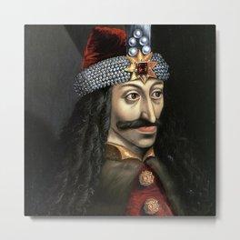 Count Dracula portrait Metal Print