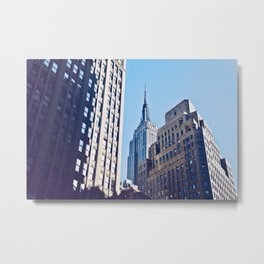An Empire Through The Trees Metal Print