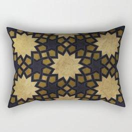 Design based on oriental graphic motifs Rectangular Pillow