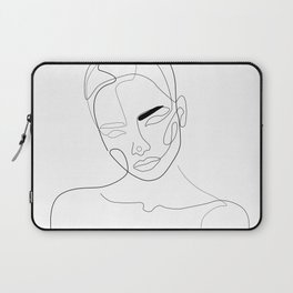 Lined Look Laptop Sleeve