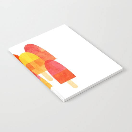 Ice Lollies Notebook