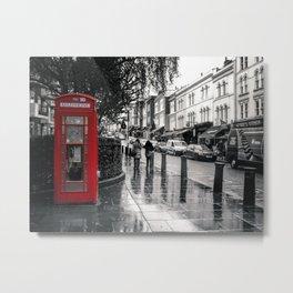 Portobello Road London Metal Print