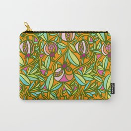 Pomegranate Vine Carry-All Pouch