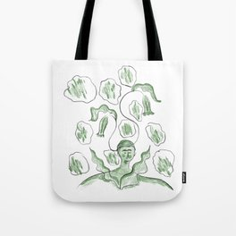 Thinker of Tender Thoughts Tote Bag