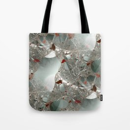 Tangled in the fractal mist Tote Bag
