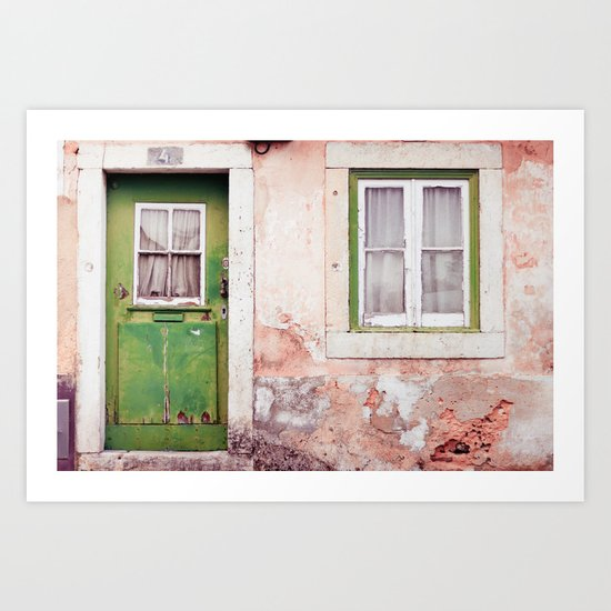 a house full of stories to tell Art Print