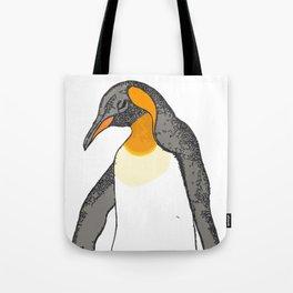 Sorrowing Penguin Tote Bag