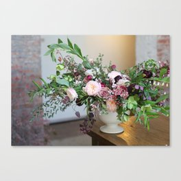 FLOWER DESIGN 10 Canvas Print