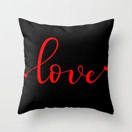 Simply Love Throw Pillow