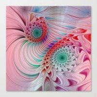 fractal design -121- Canvas Print