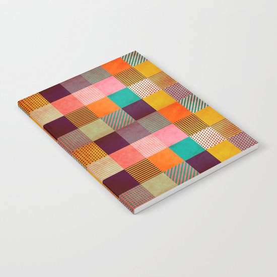 Decorated Pixel   Notebook