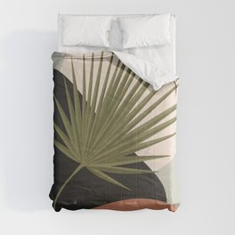 Tropical Leaf- Abstract Art 5 Comforters