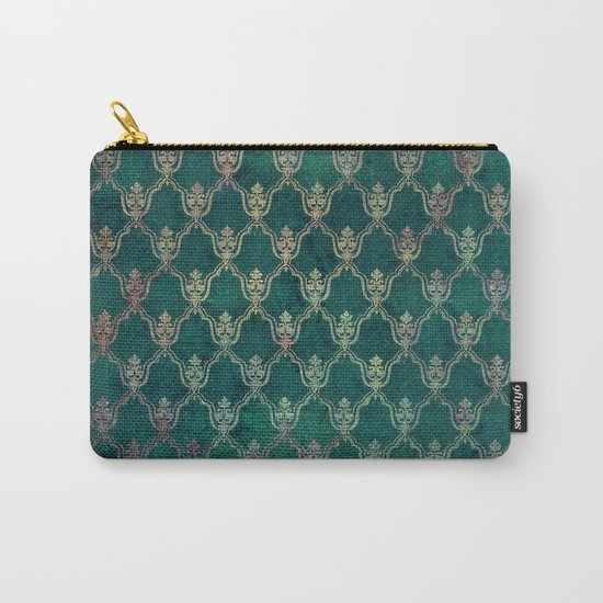 Damask Vintage Pattern 01 Carry-All Pouch