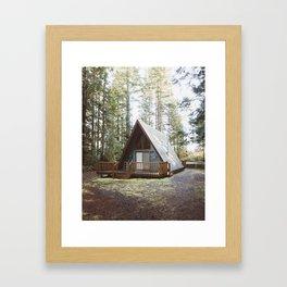 Cushman Cabin   Pt. 2 Framed Art Print