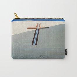 Christian Cross on Church Santorini Island Carry-All Pouch