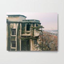 DEMIRKAPI NEIGHBORHOOD, ISTANBUL  Metal Print