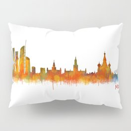 Moscow City Skyline art HQ v2 Pillow Sham