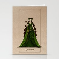 valar morghulis Stationery Cards featuring Yavanna by wolfanita