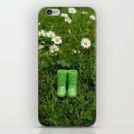 wellies iPhone Skin