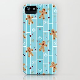 Ginger cookies iPhone Case