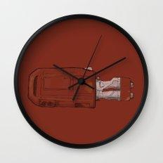 Rey's Speeder Wall Clock