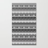 egyptian Canvas Prints featuring Egyptian by Printed Village