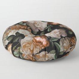 Golden Jan Davidsz. de Heem Roses Floor Pillow