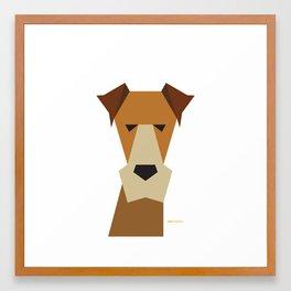 Fox Terrier Framed Art Print