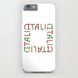 """""""ITALIA"""" Invertible Design iPhone Case"""