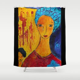 We are Hurting Shower Curtain