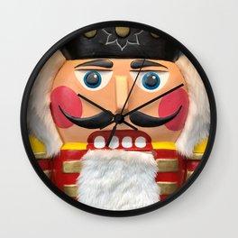 Nutcracker Christmas Design - Illustration Wall Clock