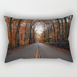 Orange Trees & Backroad Dreams Rectangular Pillow