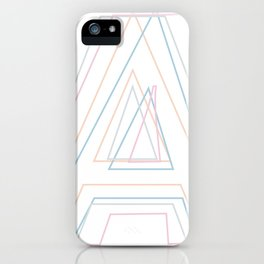 Intertwined Strength and Elegance of the Letter A iPhone Case