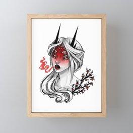 Demonberry Framed Mini Art Print