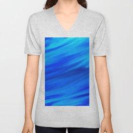 blue wind Unisex V-Neck