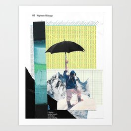 Go the Distance Art Print