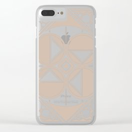 Dar Forma - Tan Clear iPhone Case