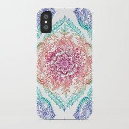 Indian Ink - Rainbow version iPhone Case