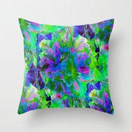 Azealia Abstract Throw Pillow