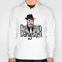 gangster Hoodies featuring Gangster by Logan_J