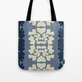 cutout shapes-blue Tote Bag