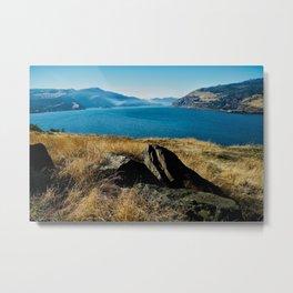 Landscape Columbia River Scenic Gorge Metal Print