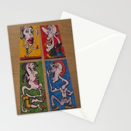 The Normality Gang Stationery Cards
