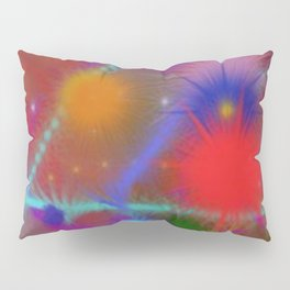 Astro Chart Colorful Abstract Pillow Sham